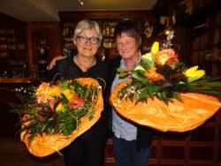v.l.n.r.: Lene Lutz und Elke Janßen